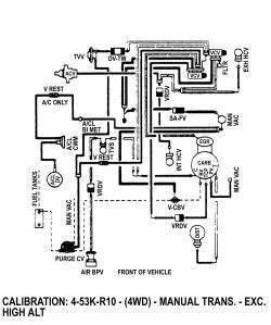 1985 F150 300 4 9l Vacuum Diagrams