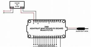 My Knight Rider 2000 Project  Adafruit Mini Sound Fx Board Wiring Diagram