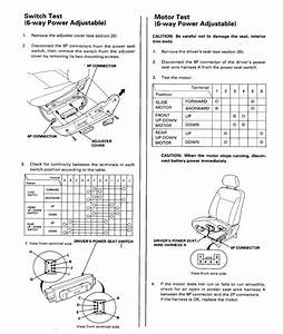 Power Seat Problem On 97 Accord Ex
