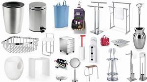 Accessoires Pour Salle De Bain : accessoires divers pour la salle de bains ~ Edinachiropracticcenter.com Idées de Décoration