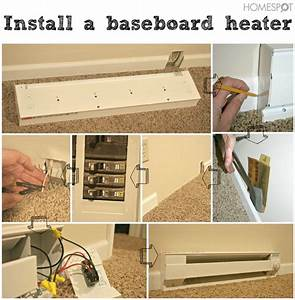Instructions For Baseboard Heater Installation