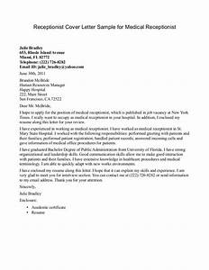 cover letter for healthcare administration position - medical receptionist cover letter sample cover letters