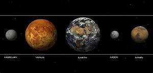 The Inner Planets in Order (page 4) - Pics about space