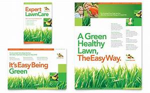 lawn care flyers templates free lawn maintenance flyer ad template design