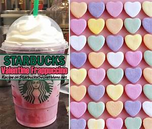 Starbucks Valentine Frappuccino | Starbucks Secret Menu