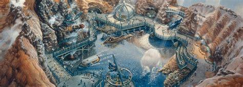 mysterious island  tokyo disneysea  leagues   sea designing disney