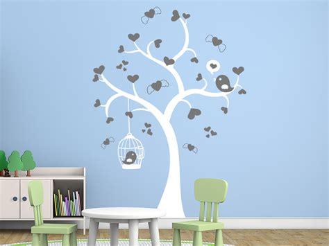 Wandtattoo Herziger Baum Wandtattoode
