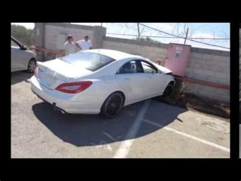 Car Crash Brand New Mercedes Cls 63 Amg Youtube