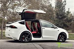 Pearl White Tesla Model X - Bentley Red Interior | Tesla model x, Tesla model, Tesla