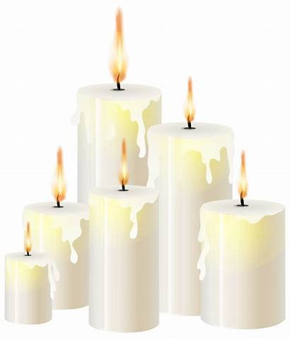 Candle Candles Transparent Clipart Clip Lighting Bougies