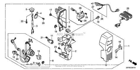 honda engines gx390rt2 ezdm engine tha vin gcbct 1000001 parts diagram for box 2