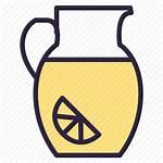 Icon Lemonade Decanter Drink Carafe Editor Open