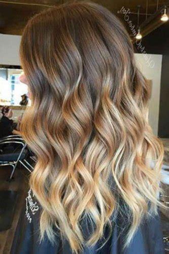 blonde balayage hair color ideas  caramel honey