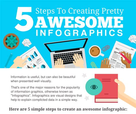 5 Steps To Creating Awesome Infographics