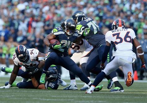 denver broncos  seattle seahawks start time tv