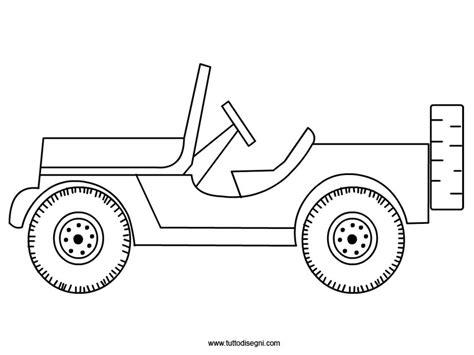 disegni da colorare jeep jeep da colorare tuttodisegni