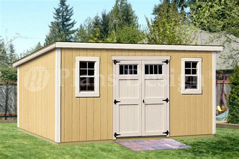 8 16 deluxe shed plans modern roof style d0816m material list included 610708152019 ebay