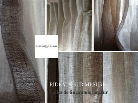 rideaux sur mesure en voile de grande largeur catalogue mobilier sur mesure