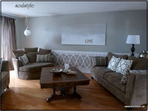 Living Room Wainscot  Soulstyle Interiors And Design