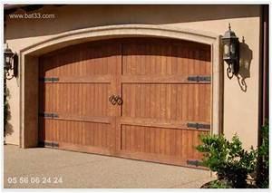 portes de garage battantes bordeaux With porte de garage et double porte bois