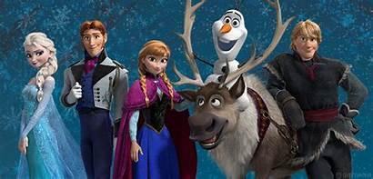 Frozen Characters Disney Movies Elsa Gifs Let