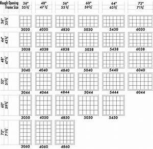 Standard Double Hung Window Size Chart Architectural Drawing Standard Window Sizes Window