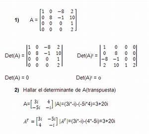 Determinante Berechnen 2x2 : determinantes lgebra lineal ~ Themetempest.com Abrechnung