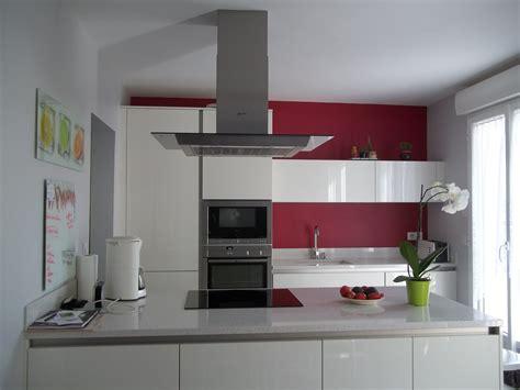 deco cuisine blanc et idee deco cuisine blanc et