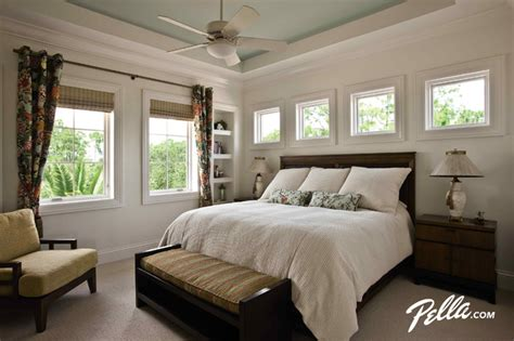 pella architect series casement  fixed windows contemporary bedroom cedar rapids