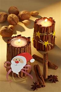 Basteln Holz Weihnachten Kostenlos : kerzenst nder basteln zimtlichter f r weihnachten ~ Lizthompson.info Haus und Dekorationen