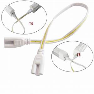 2019 50cm Connecting Wire Cable Led T5 T8 Tube 3 Hole