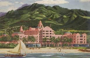 Royal Hawaiian Hotel Hawaii