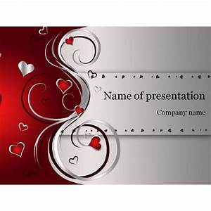 Day Powerpoint Valentines Day Powerpoint Template Background For