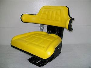 Suspension Seat John Deere Tractor Yellow 1020  1530  2020
