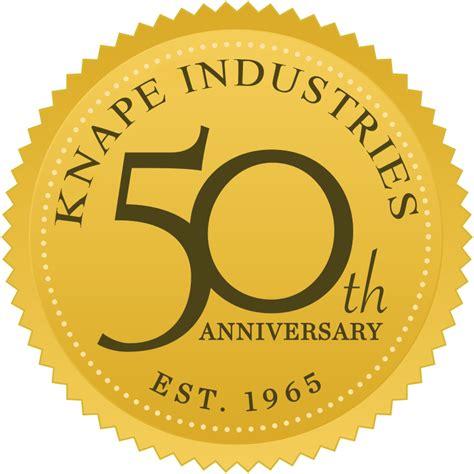 knape industries vacuum metallizing liquid paint finishing pad printing hot sting and