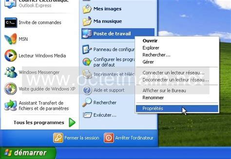 bureau a distance xp windows xp bureau à distance activer l 39 autorisation à