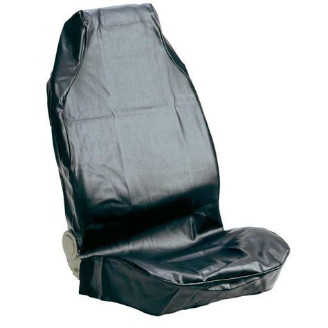 housse siege voiture cuir housse de siège 1 pièce 074010 cuir synthétique noir siège