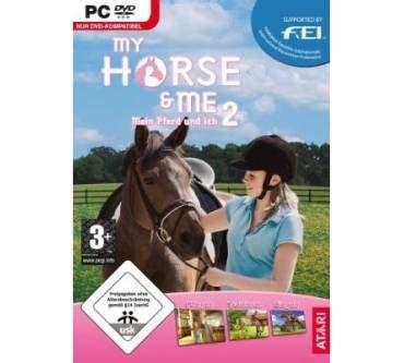 atari  horse   mein pferd und ich fuer pc test