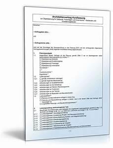 Honorarberechnung Hoai Beispiel : architektenvertrag zur objektplanung muster zum download ~ Lizthompson.info Haus und Dekorationen