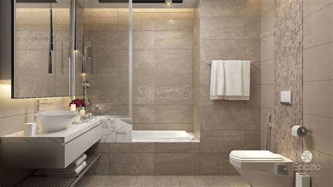 Modern Hotel Bathroom Design by Hotel Bathroom By Dubai Designers Spazio