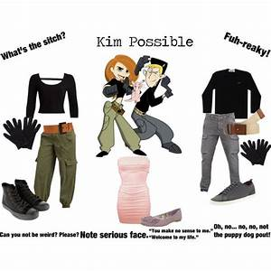 Halloween Paar Kostüme : kim possible feat ron stoppable and rufus by onedirectionginger on polyvore cosplay ~ Frokenaadalensverden.com Haus und Dekorationen