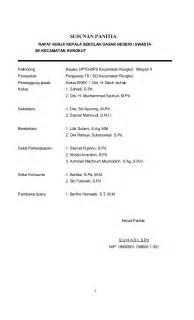 Contoh Kronologis Kegiatan Rapat Kerja by Raker 2014