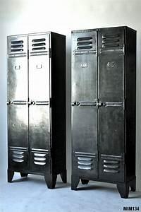 vestiaires industriels With meubles d entree vestiaire 13 meuble industriel decoration industrielle meuble de