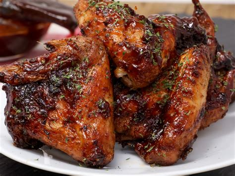 wings chicken bbq fryer air honey cook cooking recipe barbecue temperature recipes times seasoned divascancook correct