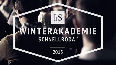 Institut Fuer Bauforschung by Winterakademie 2015 Institut F 252 R Staatspolitik