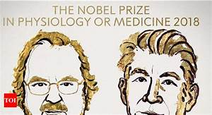 Nobel Medicine Prize awarded for cancer research