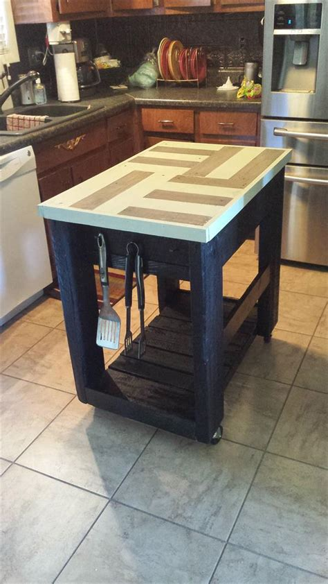 wood kitchen island table pallet kitchen furniture pallet idea