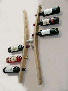 Porte Bouteille De Vin : porte bouteilles mural porte bouteille design support ~ Dailycaller-alerts.com Idées de Décoration