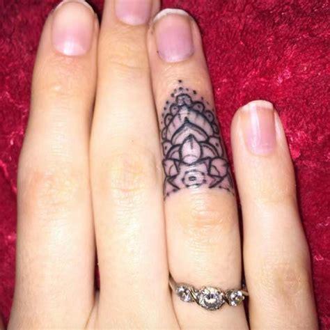 exquisite finger tattoos design mens craze