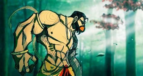Pin by Haryram Suppiah on Monkey god   Lord shiva sketch ...